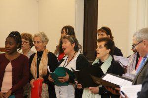 chanteuses de la chorale
