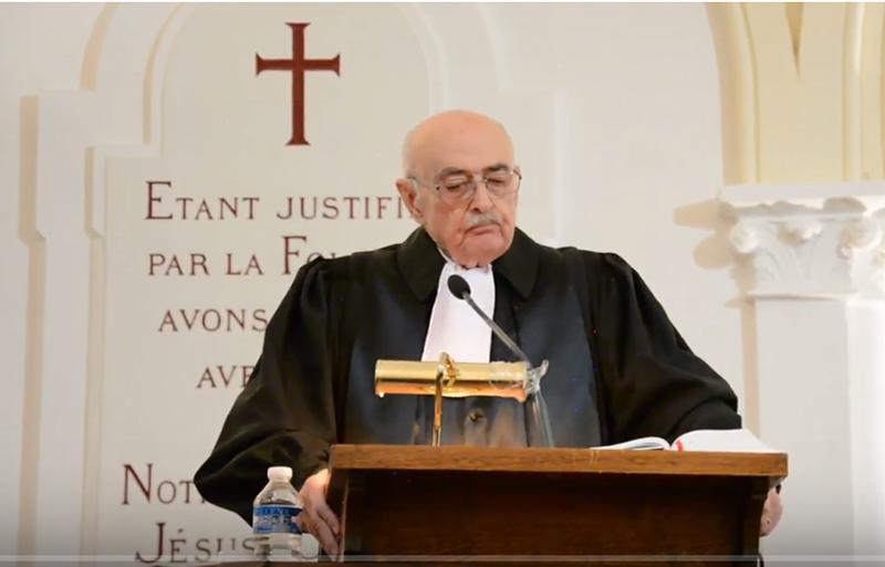 pasteur Yves Gounelle