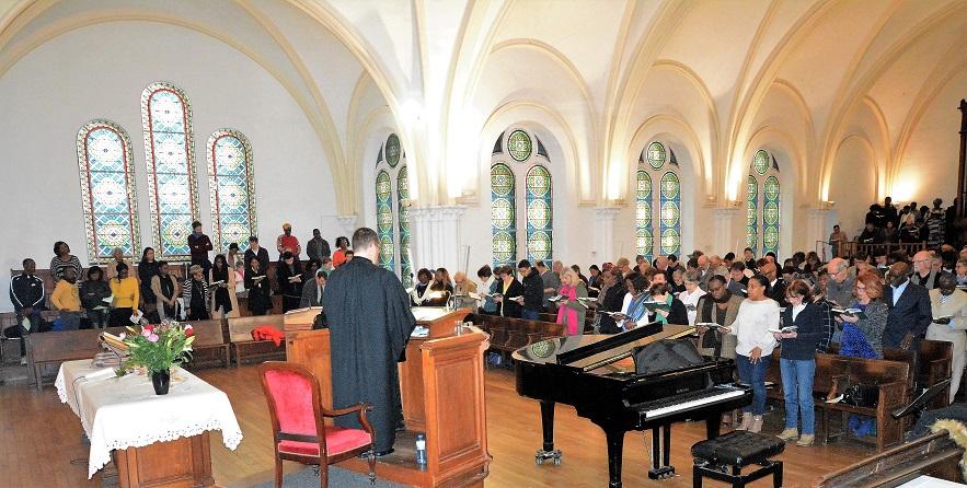 Culte de Pâques 2018 au Temple Paris-Batignolles (reportage)