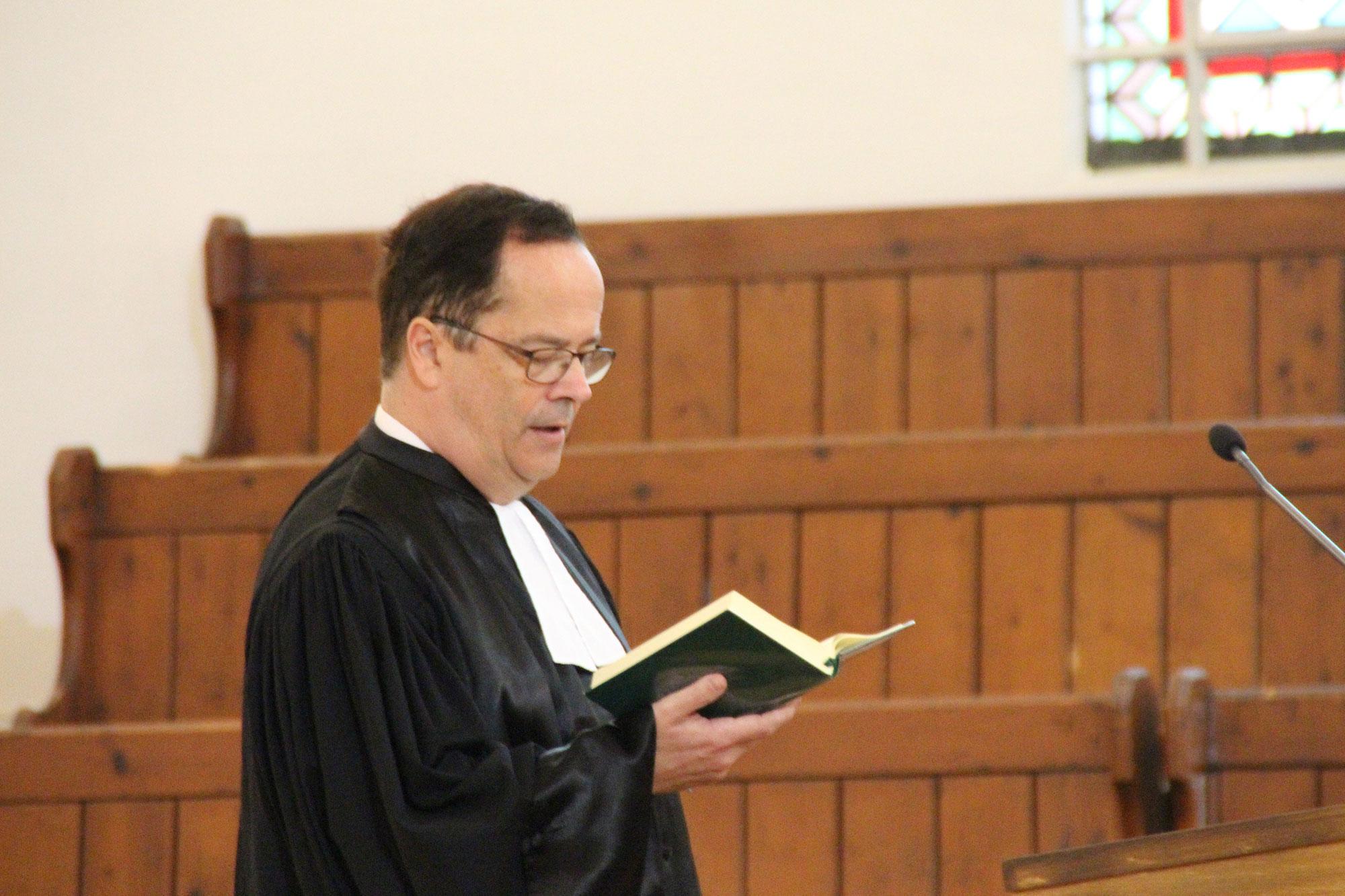 le pasteur chantant