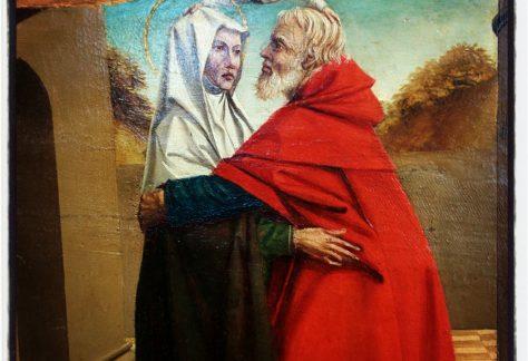 Joakim et Soeur Anne sous la porte dorée